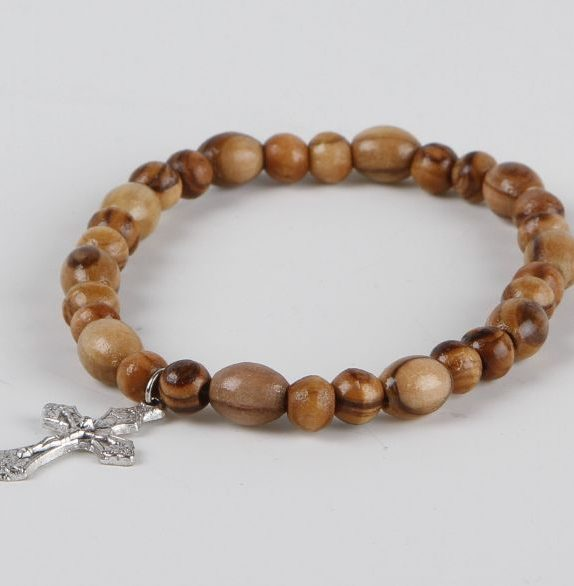 Bracelet with silver cross (normal)